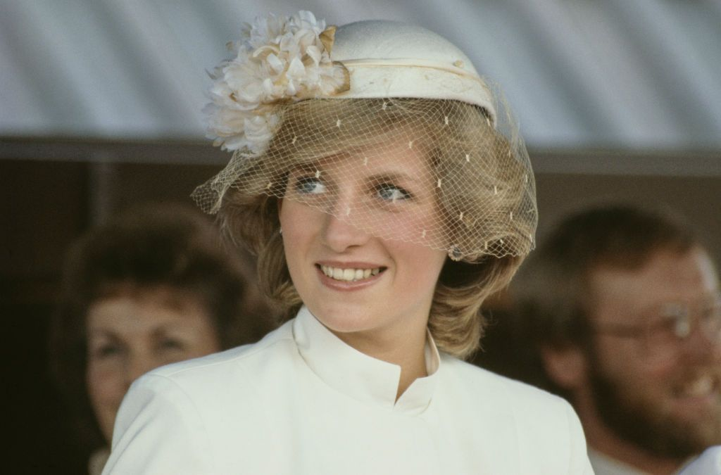 Princess Diana at a welcome ceremony on 31st March 1983   Photo: Getty Images