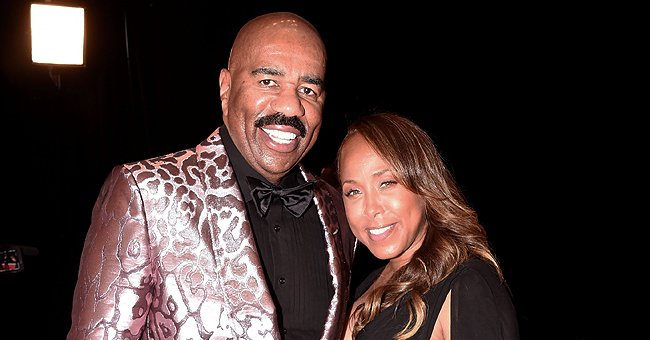 Steve Harvey from 'Family Feud' & Wife Marjorie Relax outside Their Lavish Home Amid Quarantine & Fans React