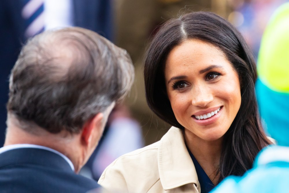 Prince Harry and Meghan Markle meet fans at Government House in Melbourne, Australia  | Source: Shutterstock