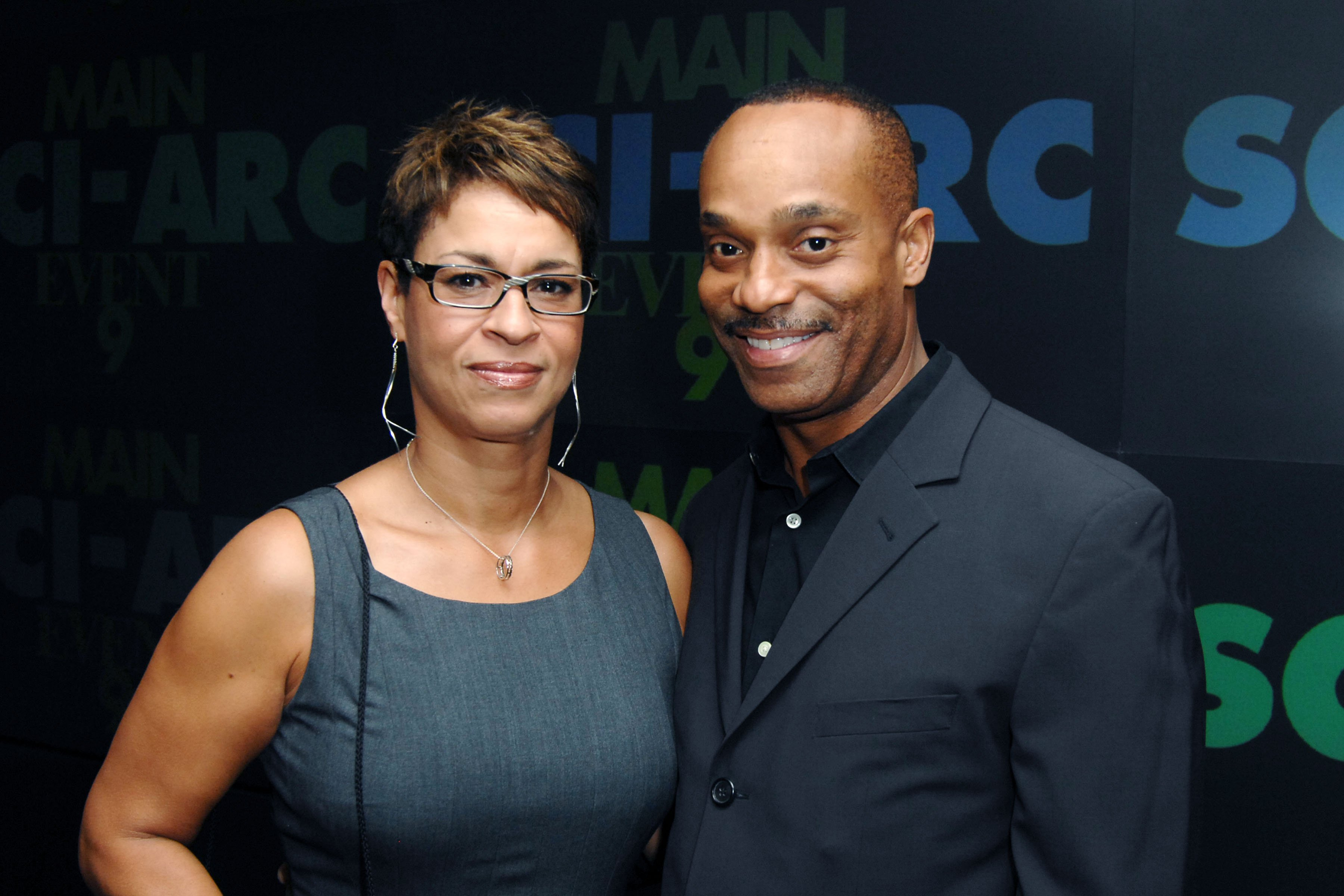 Gabrielle Bullock and Rocky Carroll attend The Southern California Institute of Architecture Honors SCI-Arc Alumnus Brendan McFarlane at Century City on November 4, 2010  | Photo: GettyImages