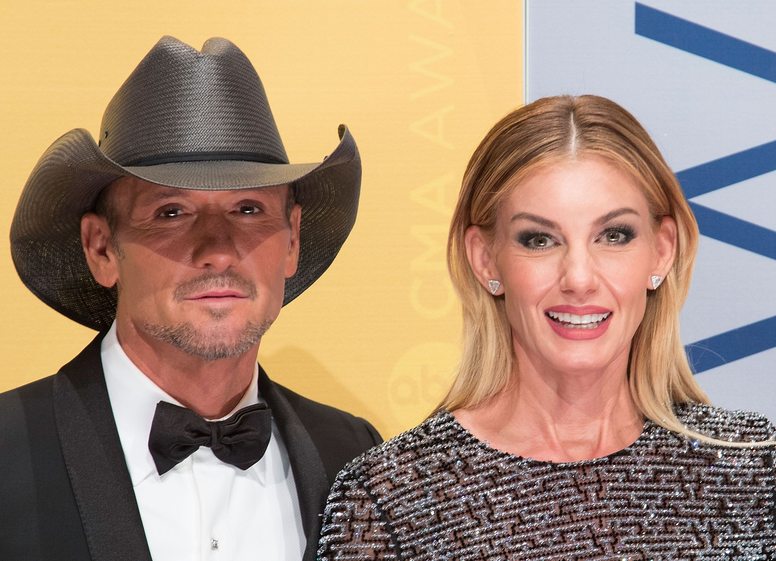 Tim McGraw and Faith Hill during the 50th annual CMA Awards at the Bridgestone Arena on November 2, 2016 in Nashville, Tennessee. | Source: Getty Images