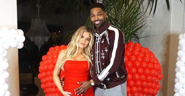 Khloé Kardashian Shares Snap with Daughter True On Her Lap after Split with Tristan Thompson