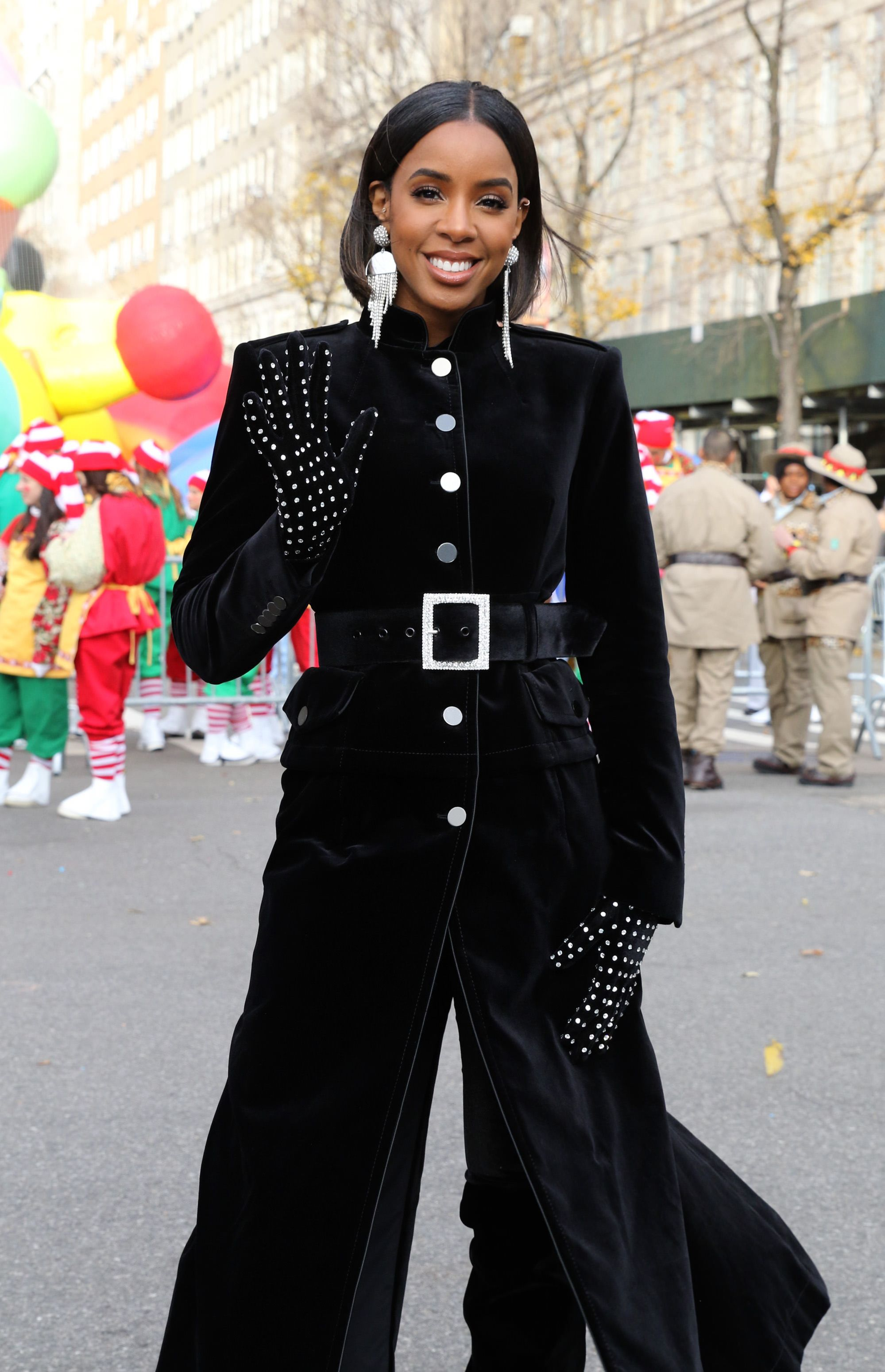 Kelly Rowland during the 93rd Annual Macy's Thanksgiving Day Parade on November 28, 2019 in New York City. | Source: Getty Images