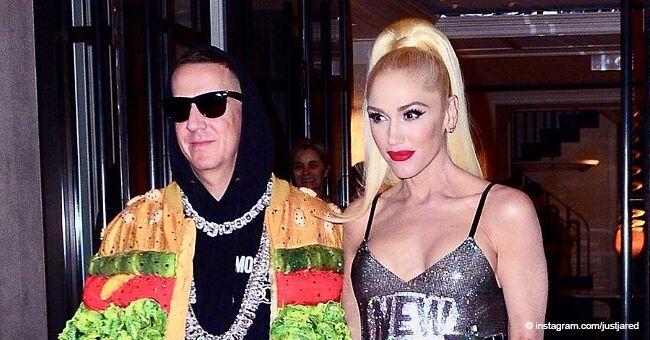 Gwen Stefani Turns Heads in a Silver Mini-Dress at the Met Gala