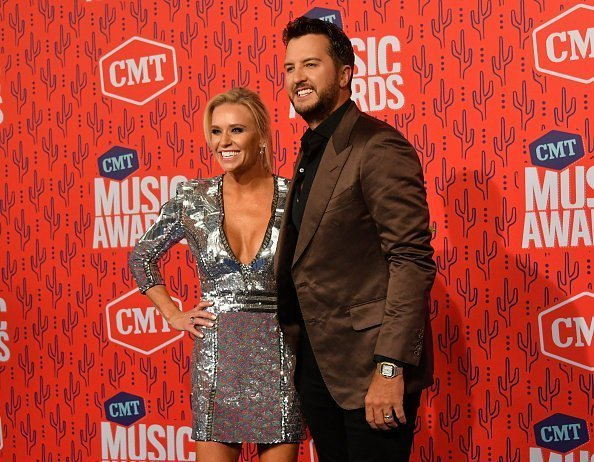 Luke Bryan and Caroline Boyer at the 2019 CMT Music Award on June 05, 2019 | Photo: Getty Images