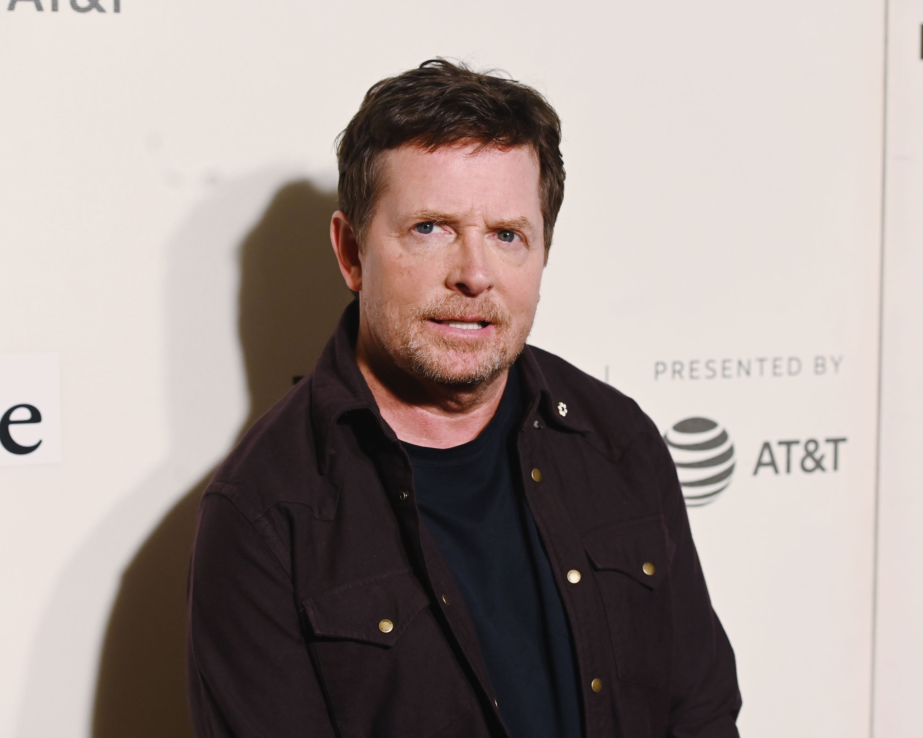 Michael J. Fox at red carpet for the Tribeca Talks - Storytellers - 2019 Tribeca Film Festival at BMCC Tribeca PAC on April 30, 2019 | Photo: Getty Images