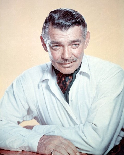 American actor Clark Gable poses for a portrait, circa 1950. | Photo: Getty Images