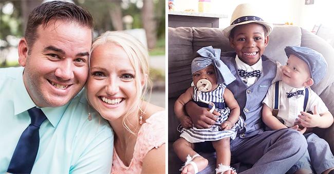 Un couple prend en charge la nouveau-née de la mère biologique de leur fils adoptif