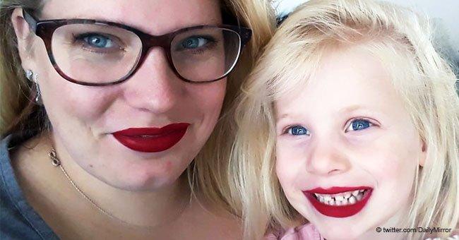 Une mère est indignée quand sa fille est revenue sans cheveux après une soirée pyjama chez ses grands-parents