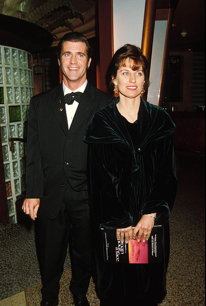 "Mel Gibson And Wife Robyn, ""Man Without A Face"" Premiere Party. 