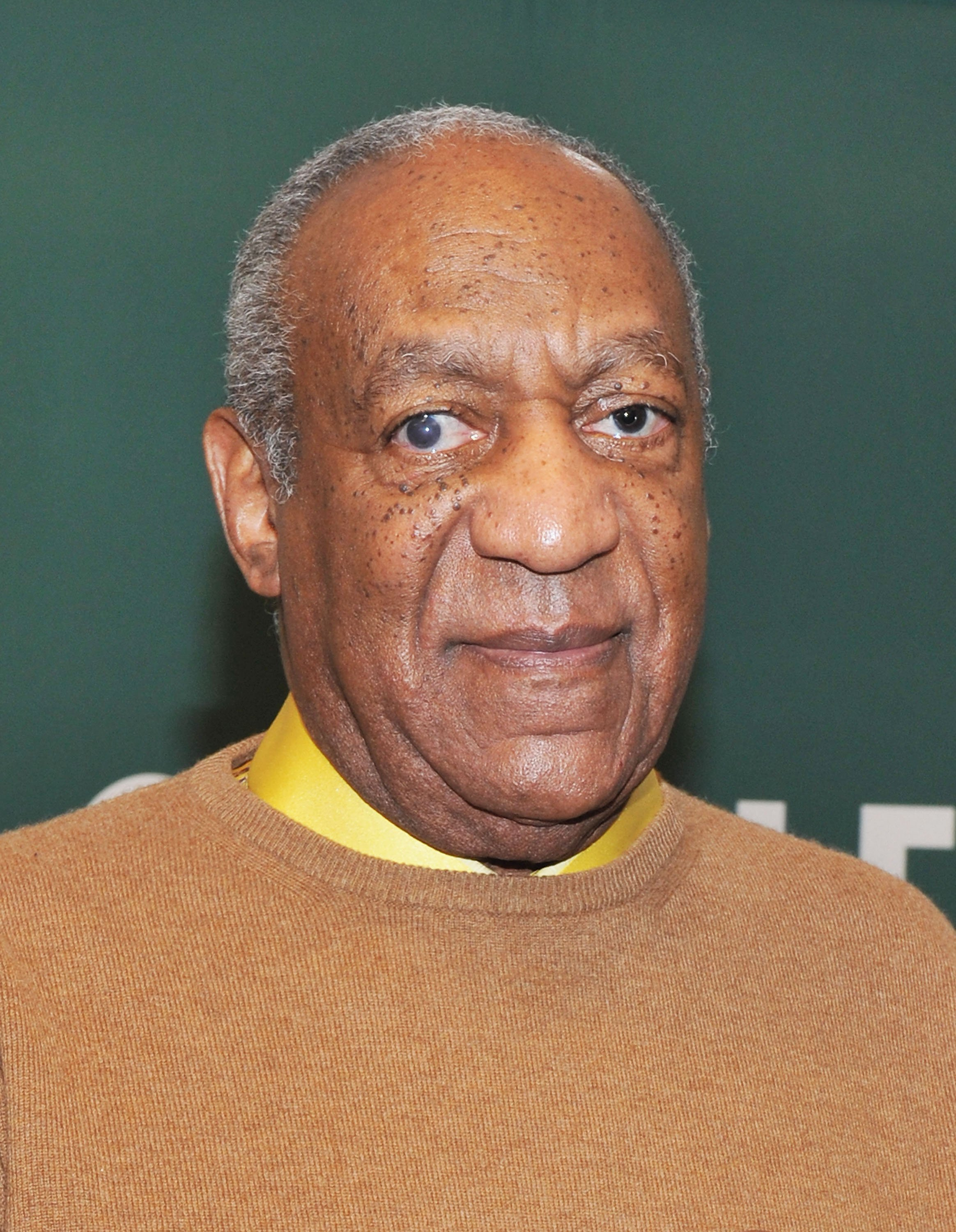 "Bill Cosby promoting his book, ""I Didn't Ask To Be Born But I'm Glad I Was"" in New York in Novermber 2011. 
