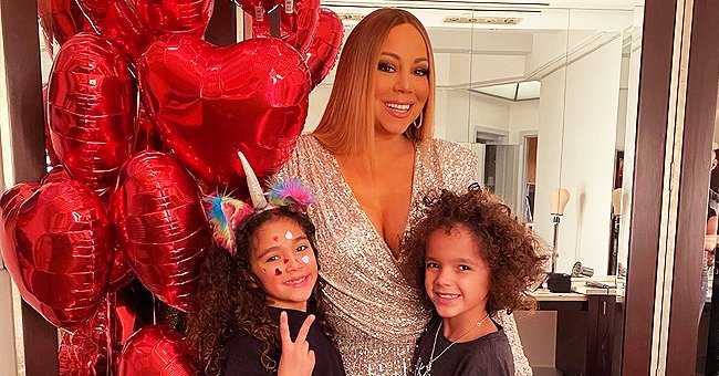 Mariah Carey Does St Patrick's Day-Themed 'Flip the Switch' Challenge with Her Twins & Boyfriend Bryan Tanaka