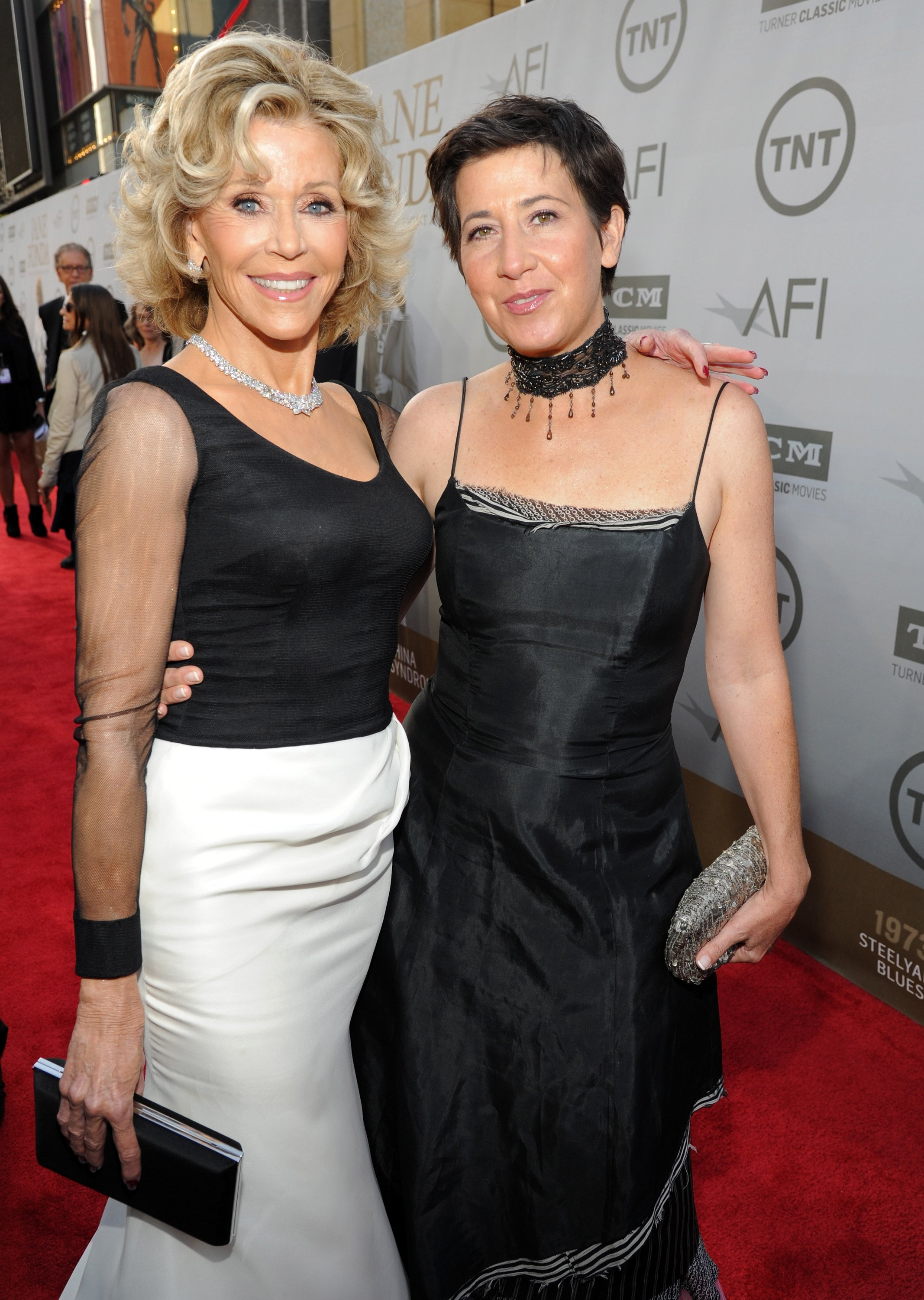Honoree Jane Fonda (L) and Vanessa Vadim attend the 2014 AFI Life Achievement Award | Photo: Getty Images