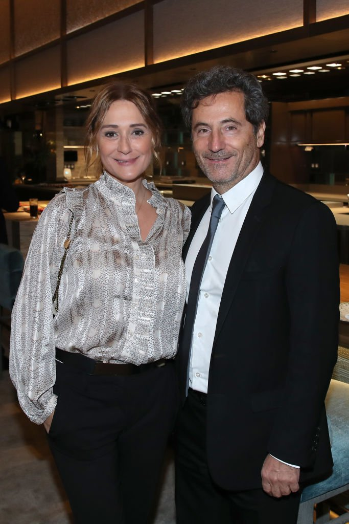 Le couple Daniela Lumbroso et Eric Ghebali | Photo : Getty Images