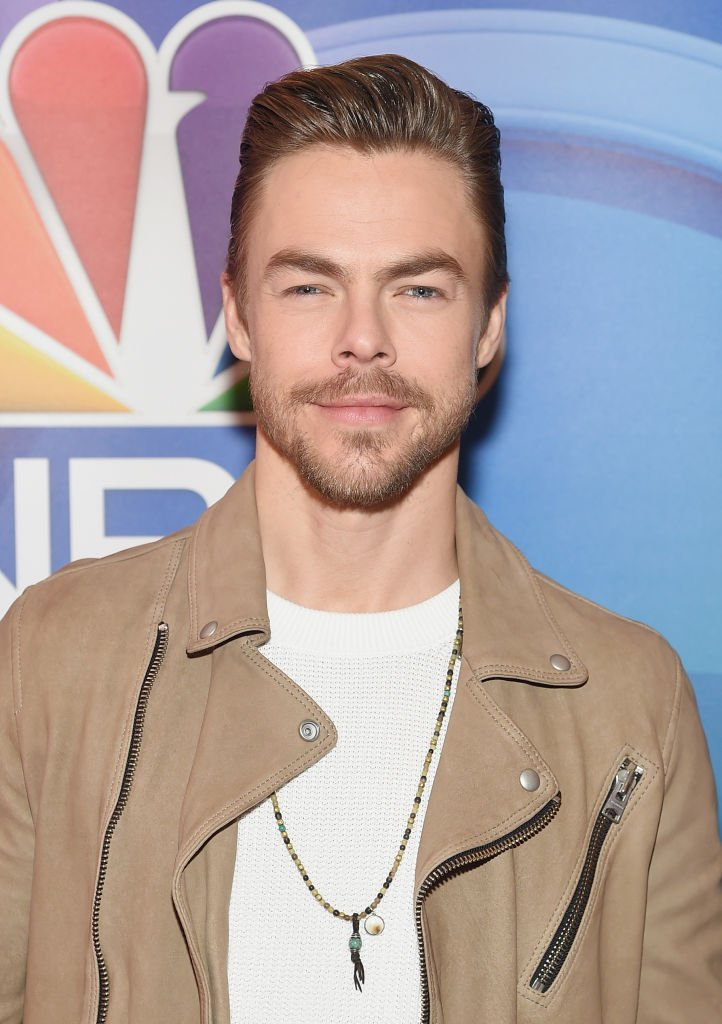 Derek Hough attends NBC's New York Mid Season Press Junket at Four Seasons Hotel New York | Photo: Getty Images