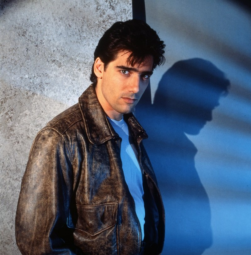 """Ken Wahl as """"Wiseguy"""" character Vinnie Terranova in January 1988 