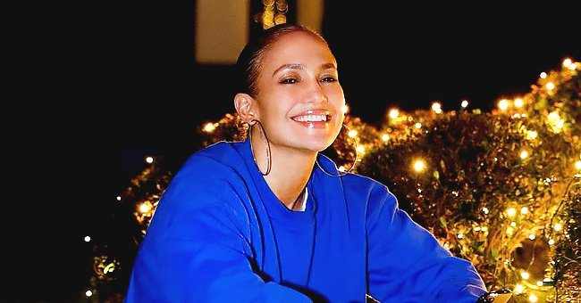 J Lo Shows off Powerful Vocals Singing Classic Christmas Song in a Duet With Stevie Mackey