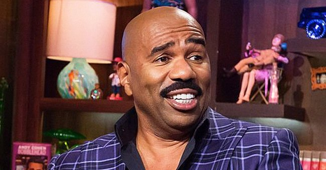 Steve Harvey's Twin Daughter Brandi Shares Pics with Her Rarely-Seen Mom Marcia on Mother's Day