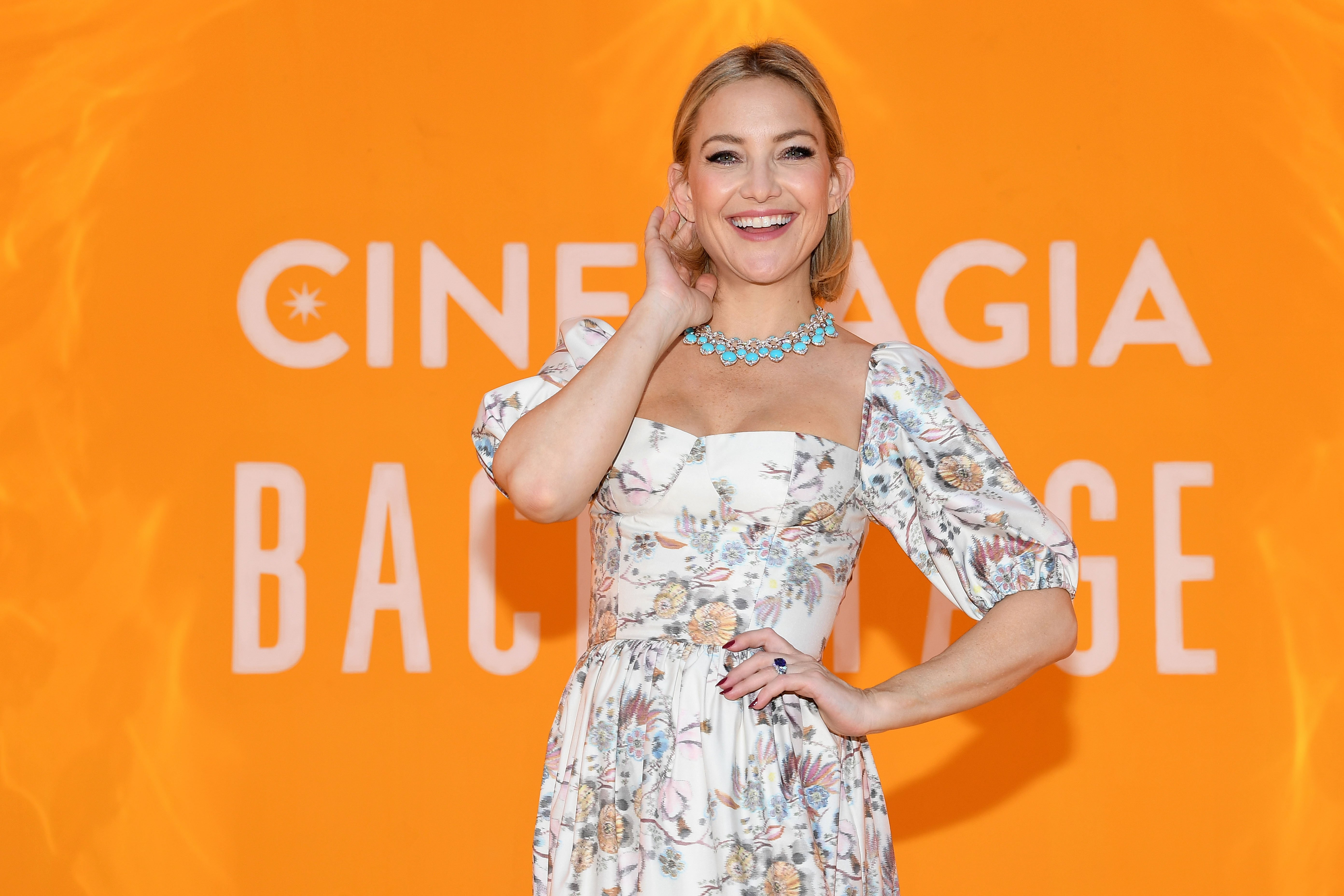 Kate Hudson attends the Bvlgari Hight Jewelry Exhibition on June 13, 2019 in Capri, Italy | Photo: Getty Images