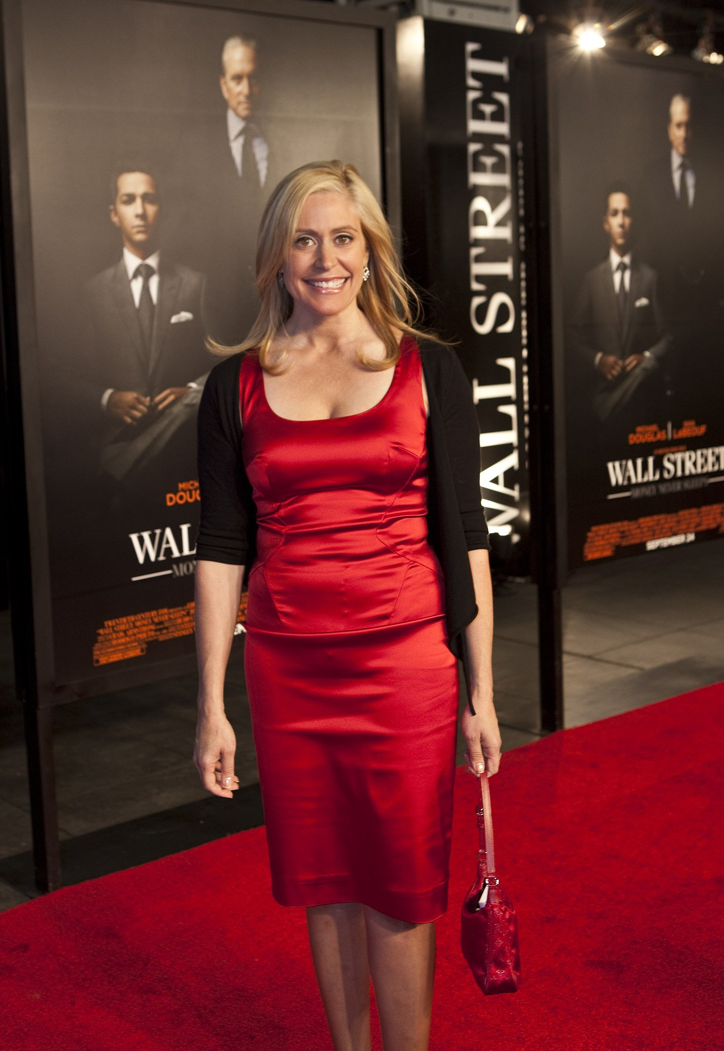 """Melissa Francis at the """"Wall Street Money Never Sleeps"""" Premiere on September 20, 2010 