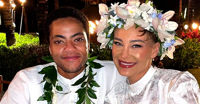 Sade's Transgender Son Izaak Ties the Knot with Fiancé Emily — See Their Magical Wedding Photos