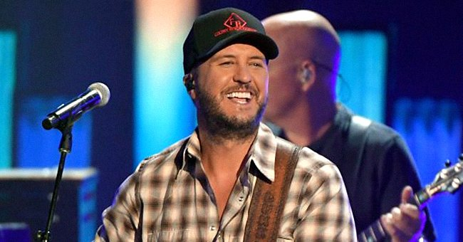 Luke Bryan Amuses Fans by Standing Next to Bacon Bust Made in His Honor in New Pic
