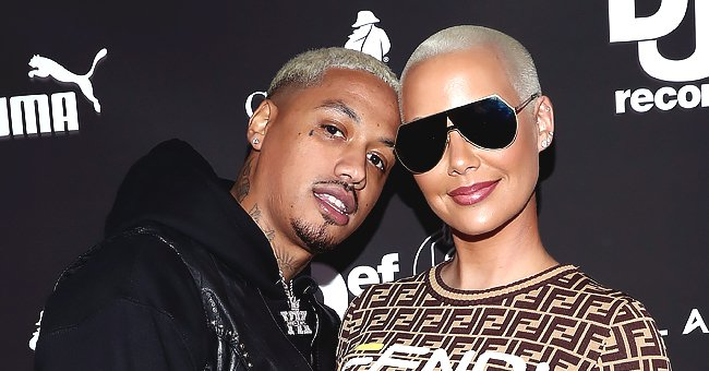 Amber Rose Calls Boyfriend Alexander 'AE' Edwards Her Husband in a Touching Birthday Tribute