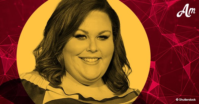 'This Is Us' star Chrissy Metz dons a dazzling black gown and sandals during CMT Awards