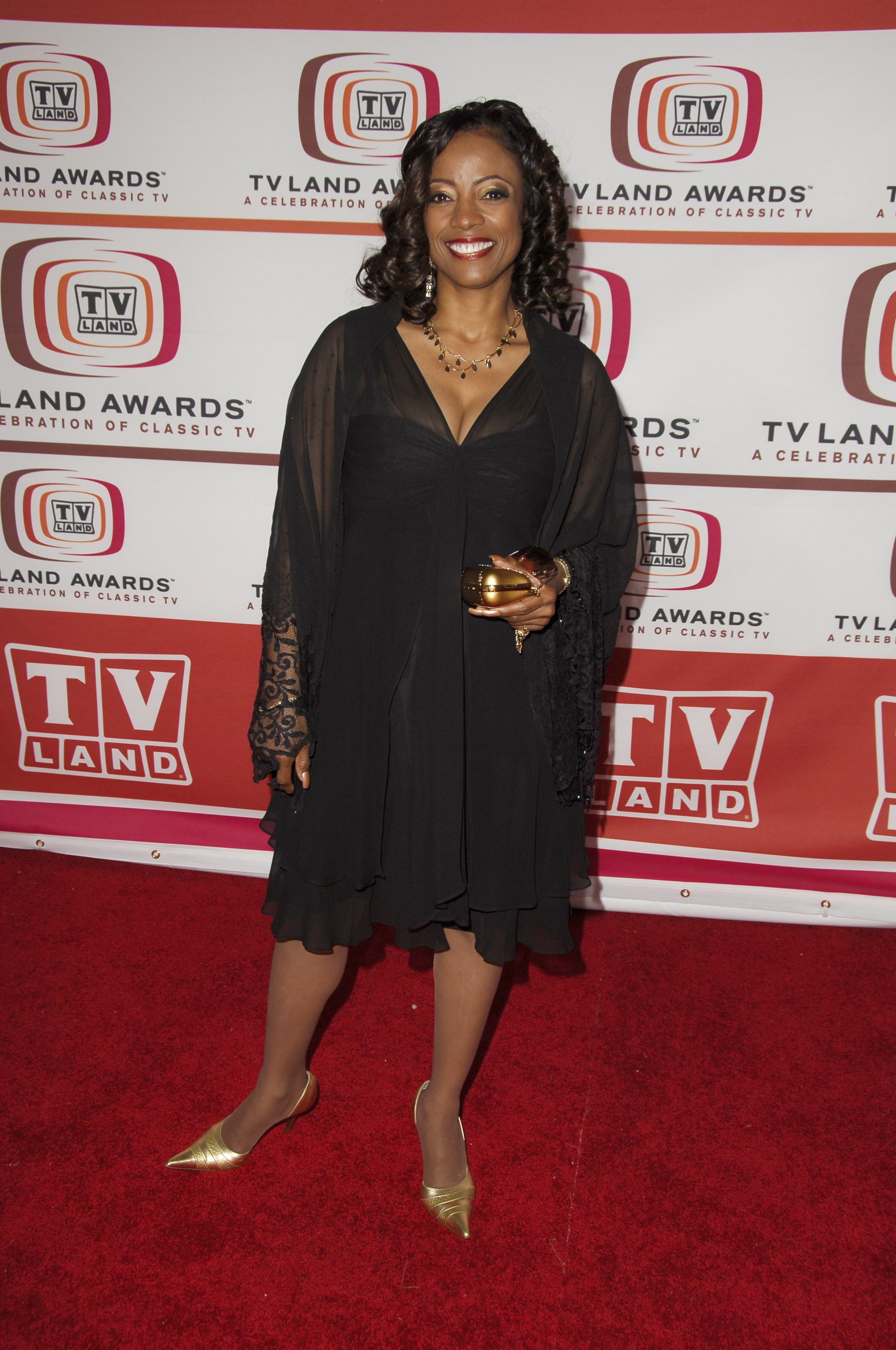 BernNadette Stanis at the 4th Annual TV Land Awards - Arrivals at Barker Hangar in Santa Monica on  March 19, 2006   Photo: Getty Images