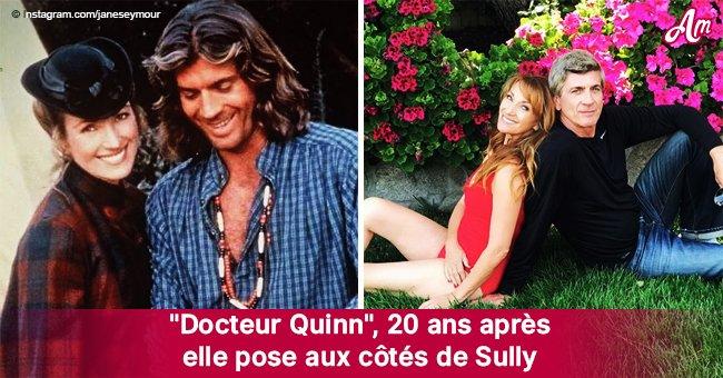 """""""Docteur Quinn"""": Michaela et Sully, posant ensemble 20 ans après la série"""