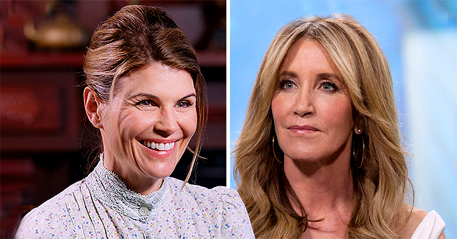 People: Lori Loughlin Reportedly Tried to Reach out & Encourage Felicity Huffman before She Went to Prison