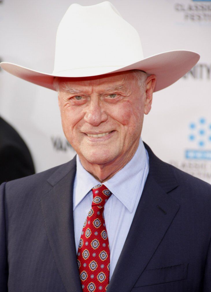 Larry Hagman at the 2012 TCM Classic Film Festival Opening Night Gala. | Source: Shutterstock