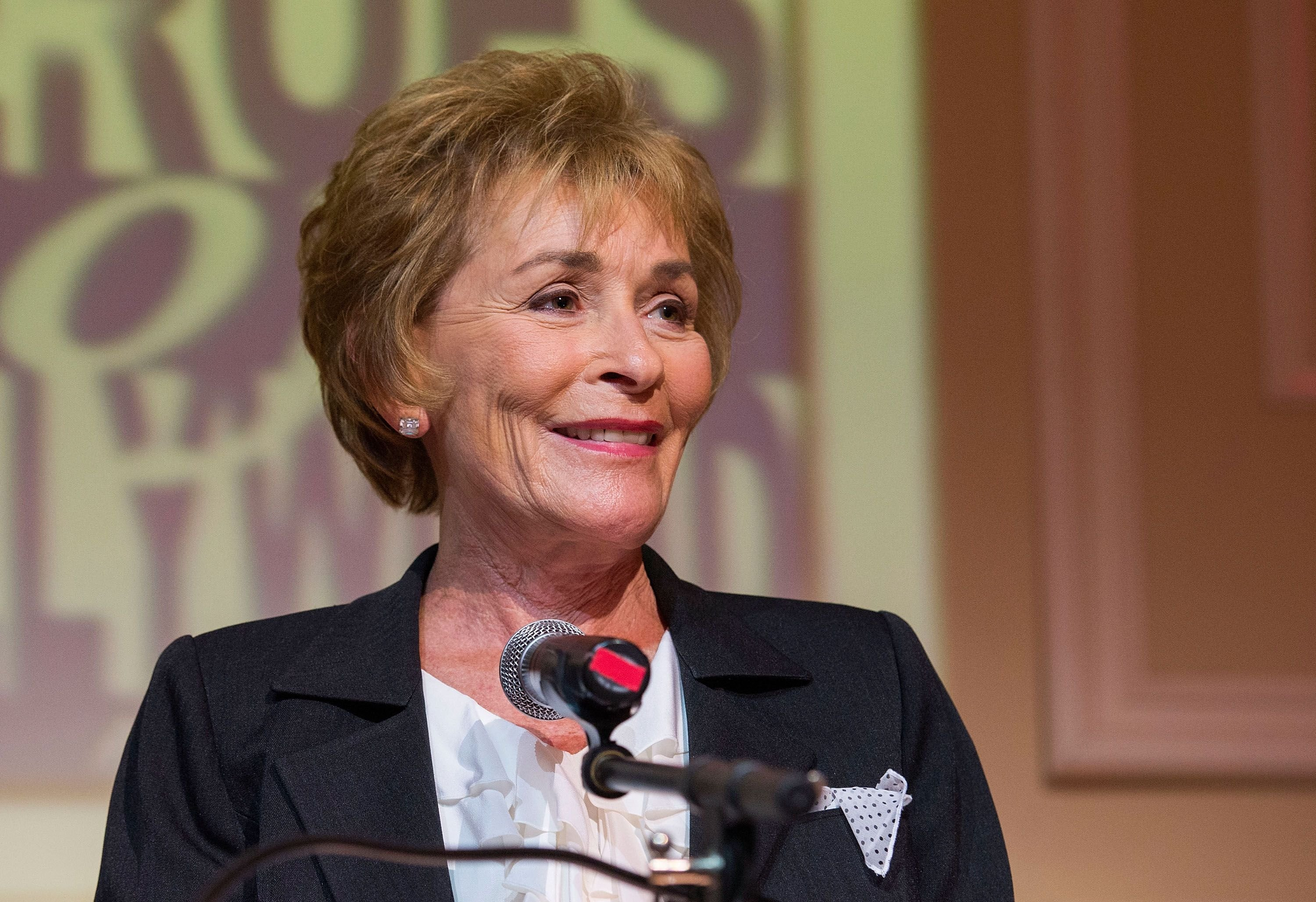 Judge Judy Sheindlin at the Heroes Of Hollywood Luncheon at Taglyan Cultural Complex on June 5, 2014, in California | Photo: Valerie Macon/Getty Images
