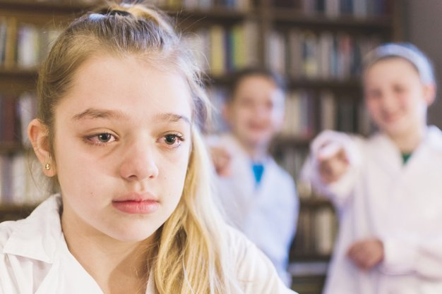 Bullying is on the increase in schools. Image credit: Freepik