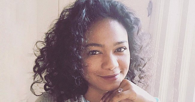 'The Fresh Prince of Bel-Air' Star Tatyana Ali Looks Content Showing Natural Curls & Chic Ring