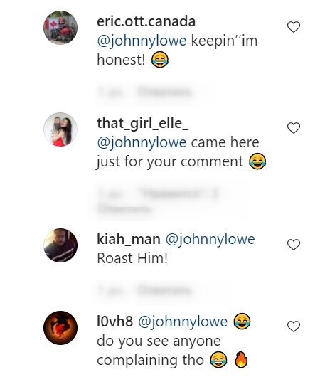 Netizens' replies to John and Matthew Lowe's comments on Rob Lowe's Instagram post from July 17, 2021 | Photo: Instagram/roblowe