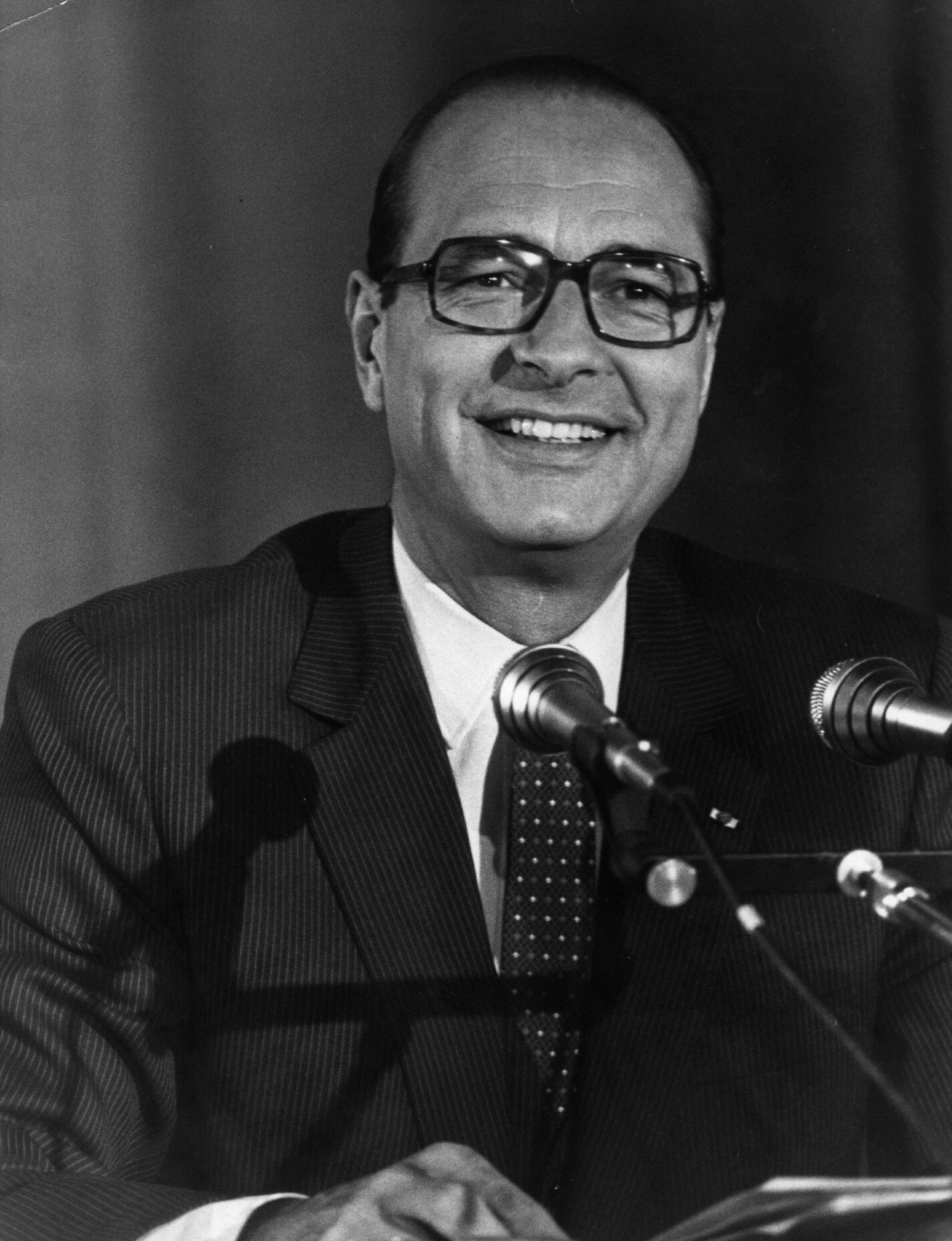 Jacques Chirac, quand il était maire de Paris. | Photo : GettyImage