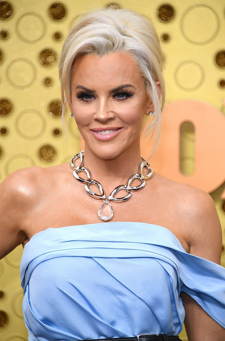 Jenny McCarthy attends the 71st Emmy Awards at Microsoft Theater on September 22, 2019 in Los Angeles, California. I Image: Getty Images.