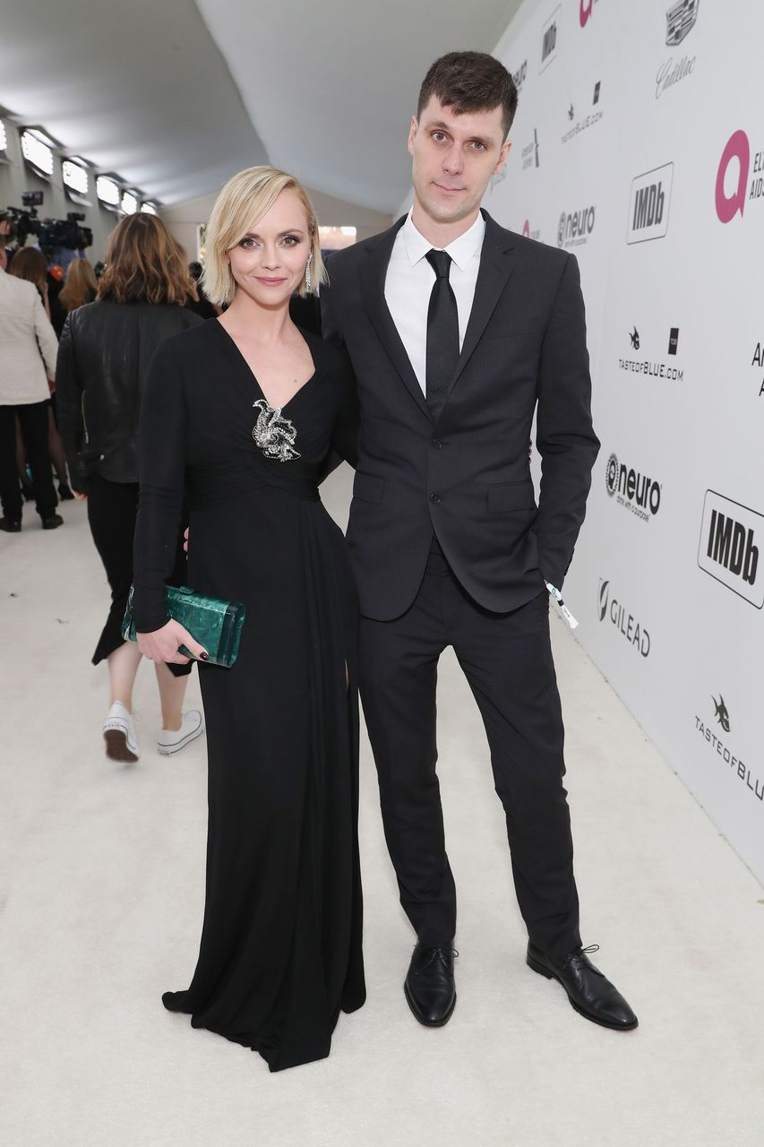 Christina Ricci and James Heerdegen at the 27th annual Elton John AIDS Foundation Academy Awards Viewing Party on February 24, 2019 in West Hollywood, California | Photo: Getty Images