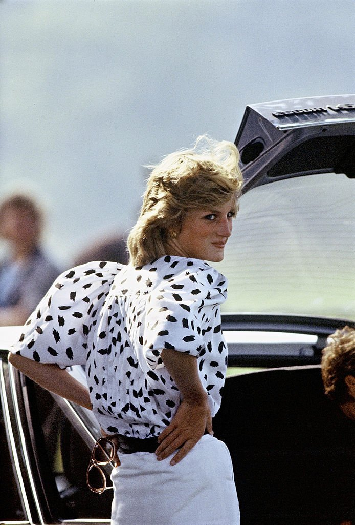 Princess Di rocking puffed sleeves | Getty Images