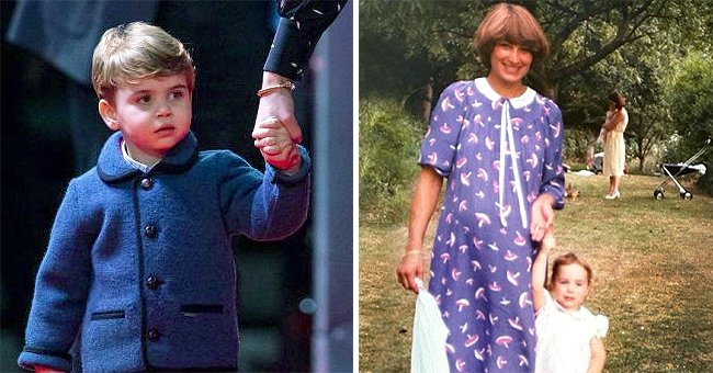 Prince Louis Is the Spitting Image of Mother Kate Middleton in Sweet Throwback Photo
