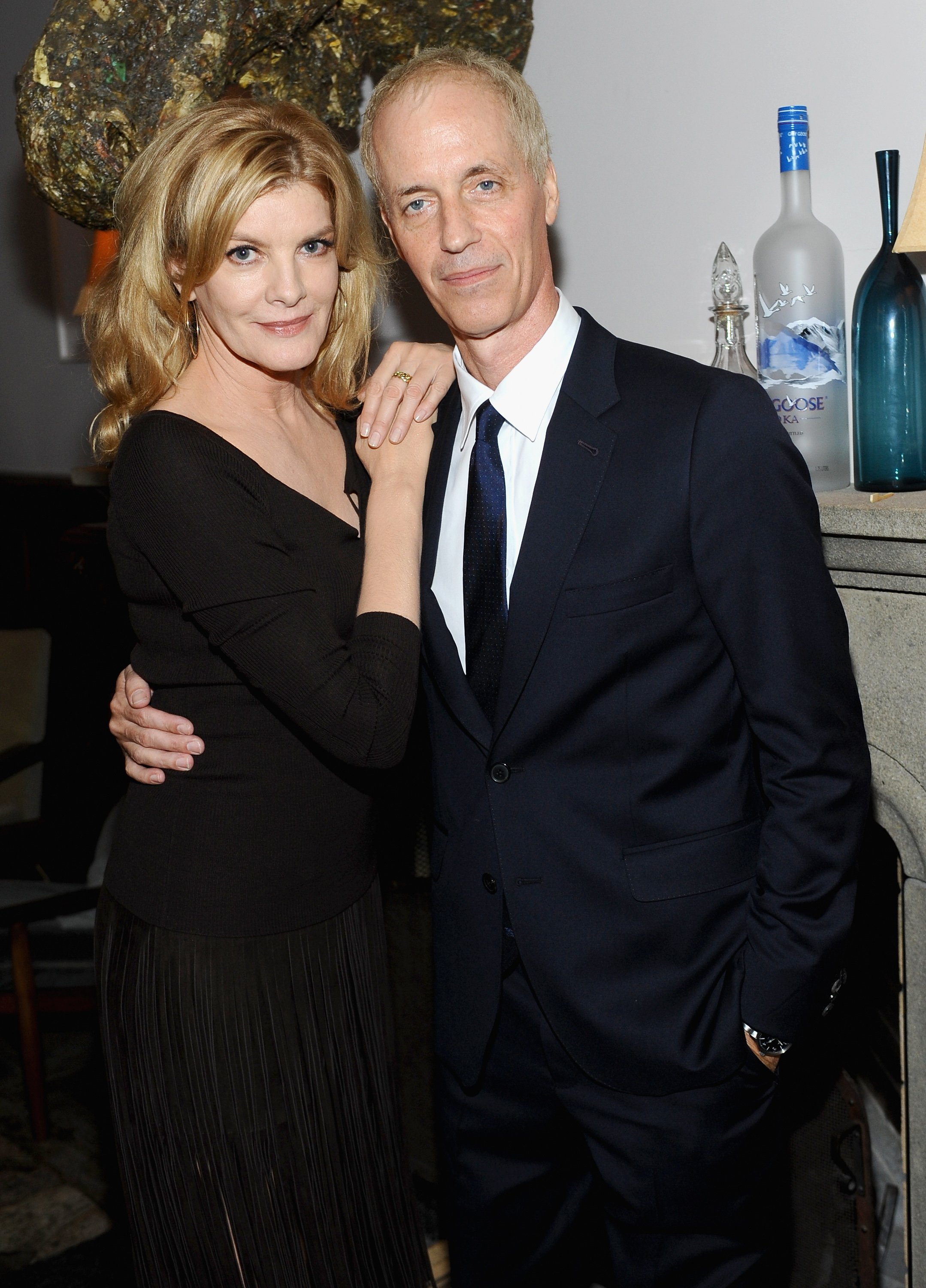 Actress Rene Russo and director Dan Gilroy at the 'NIGHTCRAWLER' World Premiere on September 5, 2014 in Toronto. | Source: Getty Images