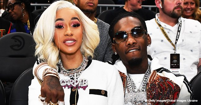 Cardi B screams while giving birth to baby Kulture in new footage shared by husband