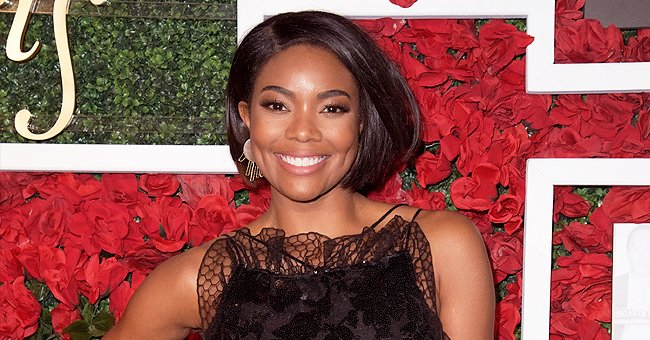 Gabrielle Union Looks Classy in $3000 Pleated Versace Dress While Rocking Short Hair —See Pics