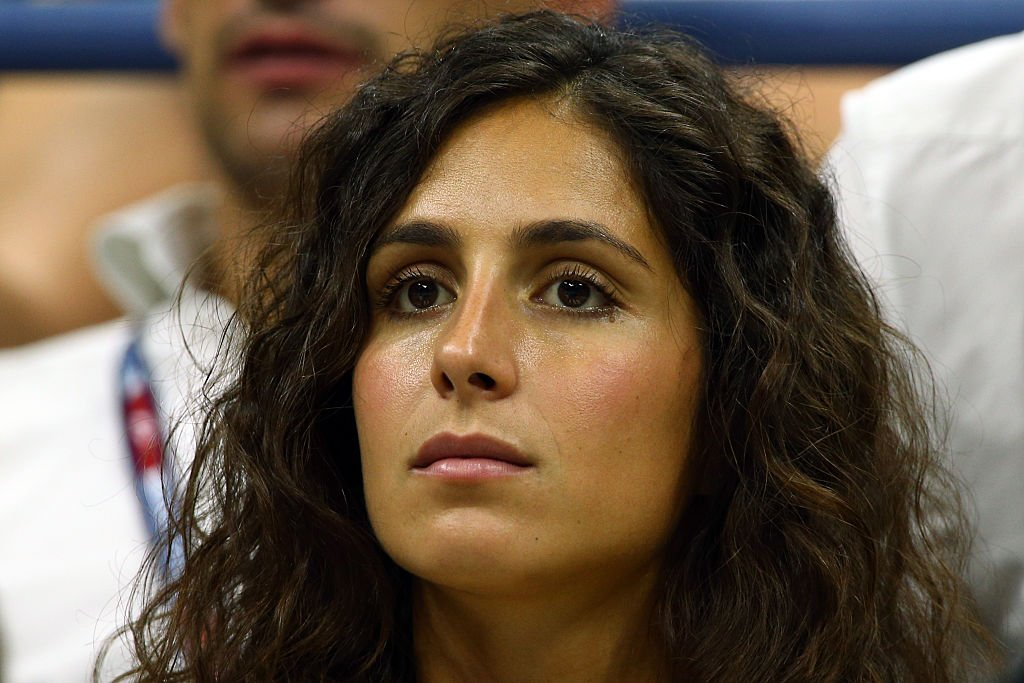 Francisca Perello apoyando a Rafael Nadal en el US Open 2015. | Foto: Getty Images