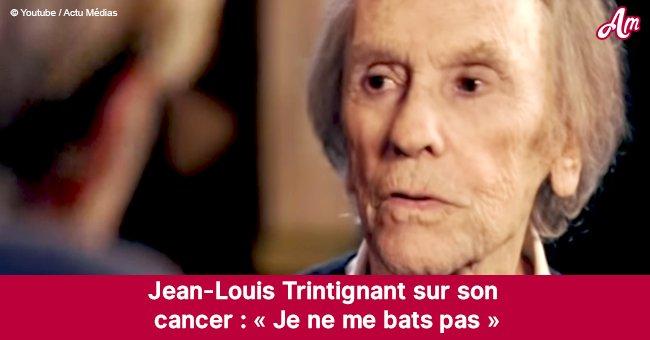 Jean-Louis Trintignant: la maladie incurable dont il souffre mais qu'il ne veut pas combattre