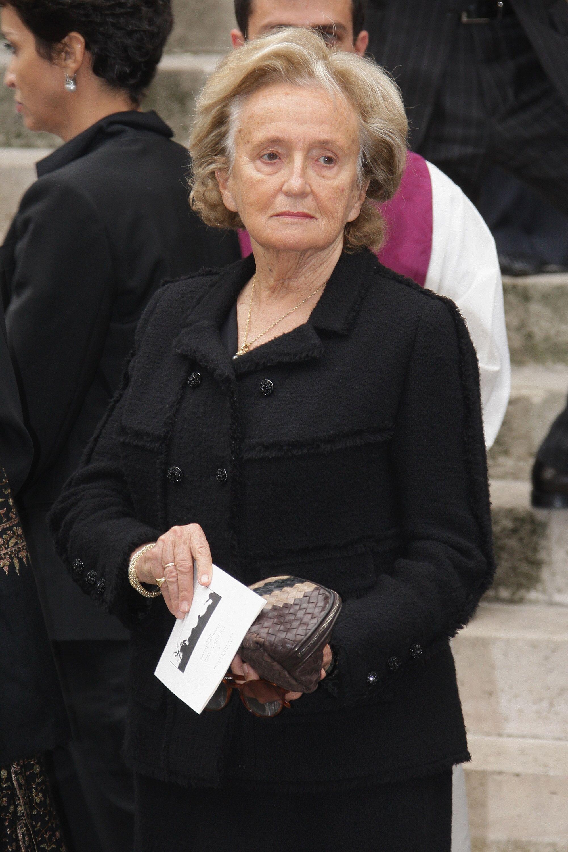 Bernadette Chirac à l'église Saint-Roch à Paris, France. | Photo : GettyImage