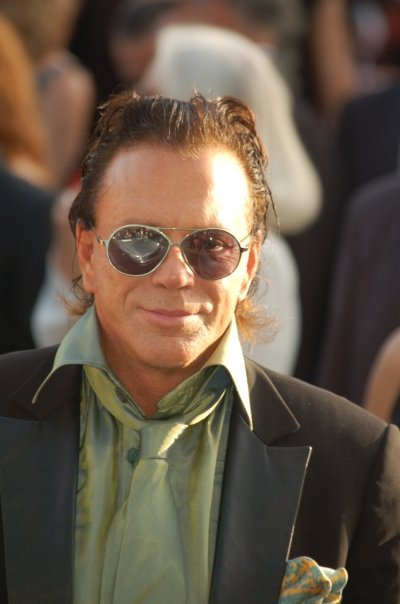 Mickey Rourke at the Cannes film festival in 2007. | Source: Wikimedia Commons