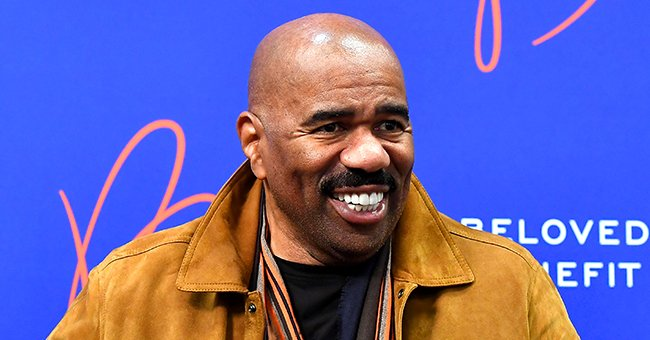 See Steve Harvey's Adorable Granddaughters in a Heartwarming Snap as They Cuddle during a Nap
