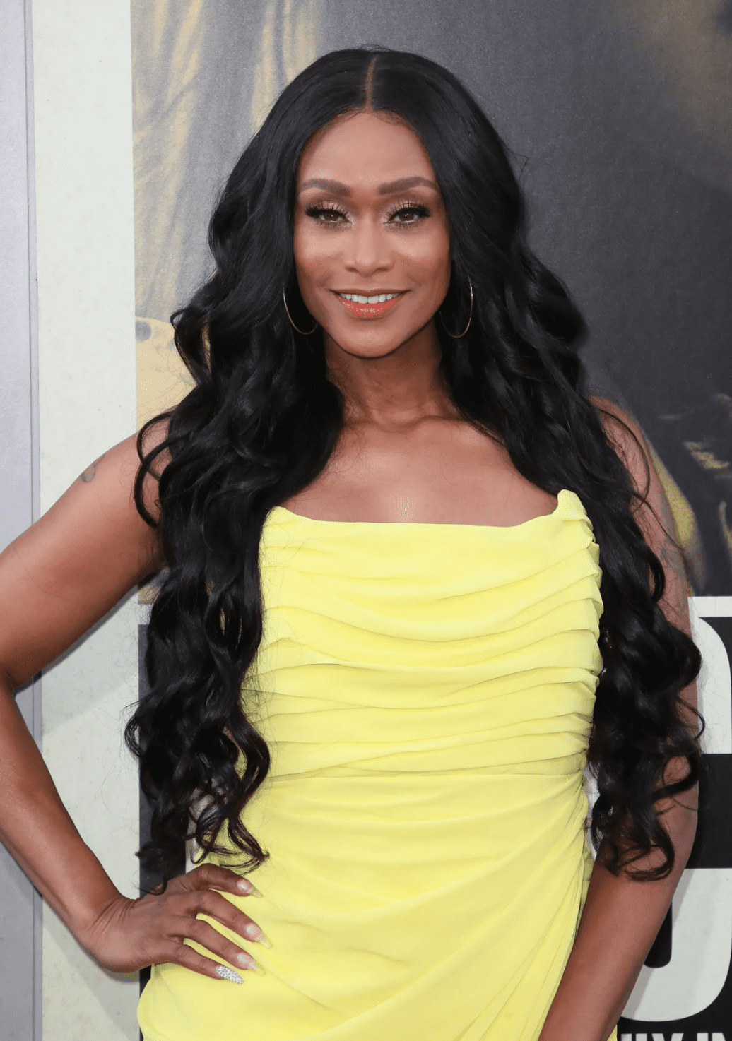 "Tami Roman during the premiere of Warner Bros Pictures' ""The Kitchen"" at TCL Chinese Theatre on August 5, 2019. 